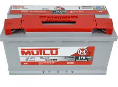 Аккумулятор 90 а/ч MUTLU SFB M2 750A обратная полярность L5.90.072.A 353*175*190