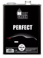 Моторное масло Moly Green Perfect 5w40, SN, синтетика 4 л