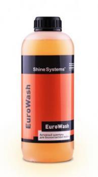 Shine Systems EuroWash - активный шампунь для бесконтактной мойки, 1 л