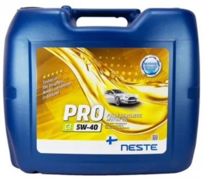 Масло моторное Neste Pro C3 5W40 20л