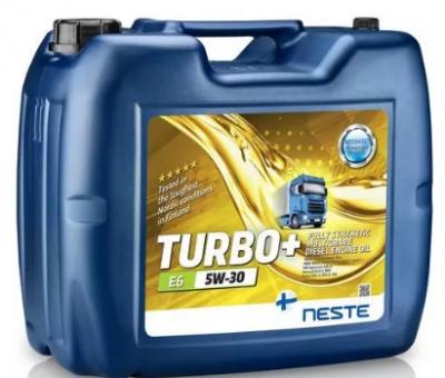 Масло моторное Neste Turbo+ E6 5W30 20л