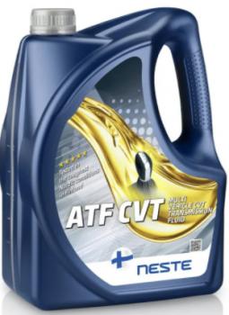 Масло трансмиссионное Neste ATF CVT 4л