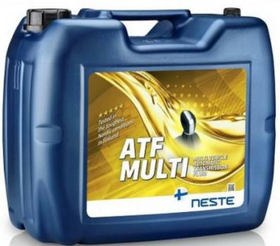 Масло трансмиссионное Neste ATF Multi 20л