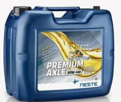 Масло трансмиссионное Neste Premium Axle 80W140 20л