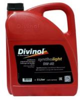 Моторное масло DIVINOL Syntholight 0W40 5 л