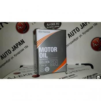 Моторное масло Mazda Golden SN 5W30, 4л
