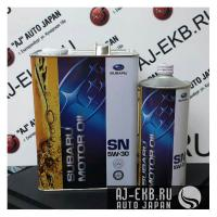 Моторное масло SUBARU MOTOR OIL 5W30, 1л