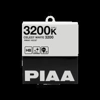 Лампа PIAA BALB CELEST WHITE 3200K (HB) 2шт