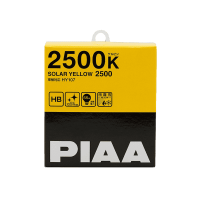 Лампа PIAA BALB SOLAR YELLOW 2500K (HB3/HB4) 2шт