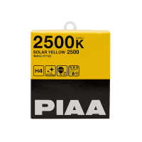 Лампа  PIAA BALB SOLAR YELLOW 2500K  (H4) 2шт