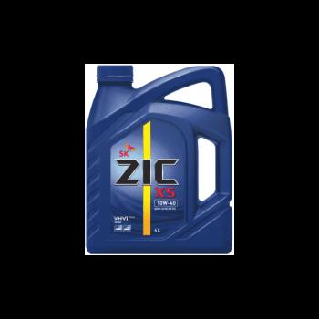 Моторное масло ZIC 10W-40  X5, 4л