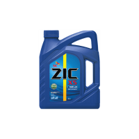 Моторное дизельное масло ZIC 10W-40  X5 Diesel Cl-4, 4л