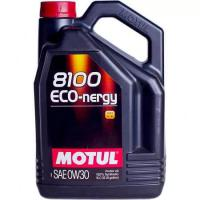 Моторное масло MOTUL 8100 Eco nergy 0w 30 A5/B5 API SL/CF, 5л