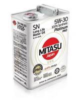 Масло моторное MITASU Platinum PAO 5W30 SN 4 л