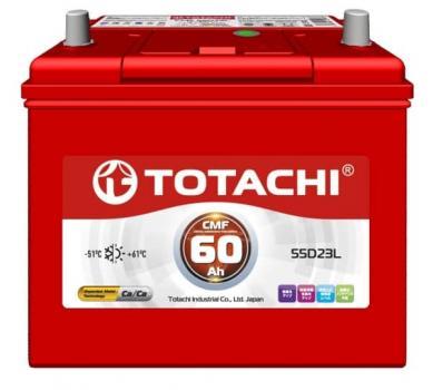 Аккумулятор TOTACHI  CMF 60 а/ч 55D23 L