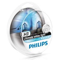 Автолампа PHILIPS H3  Diamond Vision 5000K (2шт)
