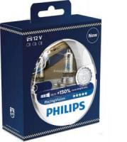 Автолампа PHILIPS H4  Racing Vision (3500К)+150% (2шт)