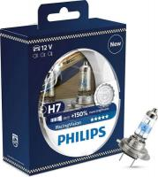 Автолампа PHILIPS H7  Racing Vision +150%  (2шт)