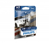 Автолампа PHILIPS H7 Racing Vision +150% (блистер)
