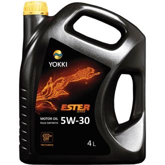 Моторное масло YOKKI SAE 5W30 Ester 4л