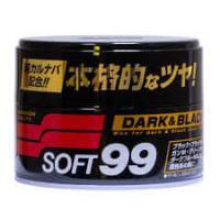 Полироль для кузова защитный Soft99 Soft Wax для темных, 300 гр