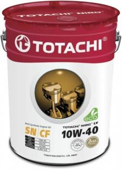 Масло моторное TOTACHI NIRO 10W40 Semi-Synthetic 19л