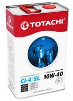 Масло моторное TOTACHI NIRO 10W-40 HD Semi-Synthetic CI-4/SL 4л