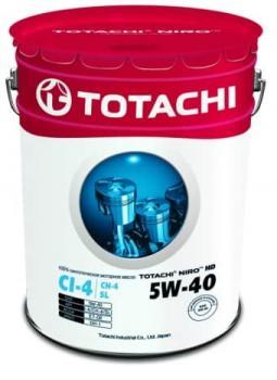 Масло моторное TOTACHI NIRO 5W-40  HD SYNTHETIC CI-4/SL 19л