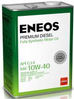 Масло моторное ENEOS Premium Diesel CJ-4 Синтетика 10W40 4л