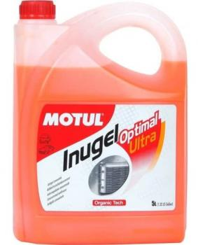 MOTUL Антифриз конц. Inugel Optimal Ultra (красный) 5л