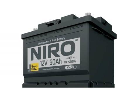 Аккумулятор TOTACHI  NIRO MF 56076, 60а/ч L