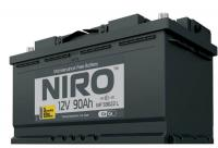 Аккумуляторная батарея NIRO MF 59022, 90а/ч L