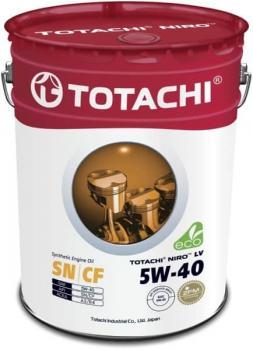 Масло моторное TOTACHI NIRO LV SN/CF Synthetic 5W-40 19л