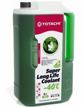 Антифриз TOTACHI SUPER LONG LIFE COOLANT Green -40C 5л.