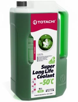 Антифриз TOTACHI SUPER LONG LIFE COOLANT Green -50C 5л.