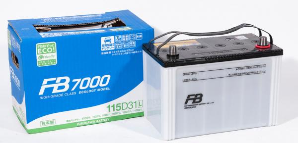 Аккумулятор FURUKAWA BATTERY FB7000 115D31L