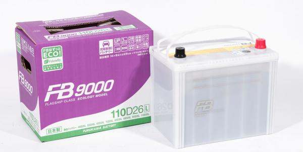 Аккумулятор FURUKAWA BATTERY FB9000 110D26L