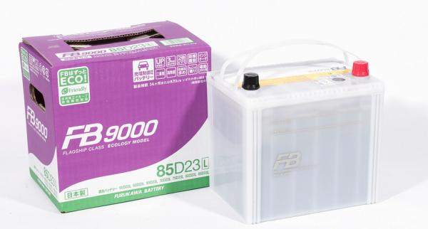 Аккумулятор FURUKAWA BATTERY FB9000 85D23L