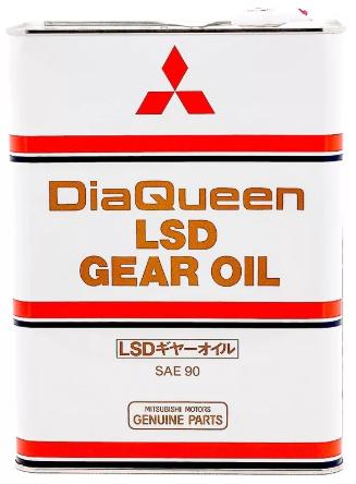 Трансмиссионное масло MITSUBISHI LSD SAE 90 GL-5 4л