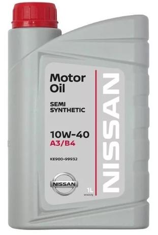 Моторное масло Nissan Motor Oil 10W40 1л.