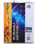 Моторное масло SUBARU MOTOR OIL 5W30 4л