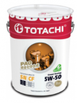 Моторное масло TOTACHI  Grand Fuel  Fully Synthetic  SN/CF     5W-50     20л