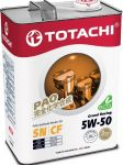 Моторное масло Totachi   5W50 Grand Fuel  Fully Synthetic  SN/CF    4л