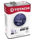 Масло трансмиссионное TOTACHI Super Hypoid Gear GL-4 80W90 4л