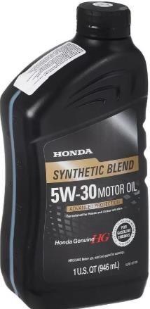 Моторное масло HONDA  Synthetic Blend 5W30 946мл