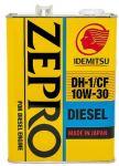 Моторное масло IDEMITSU ZEPRO DIESEL 10W30 4л