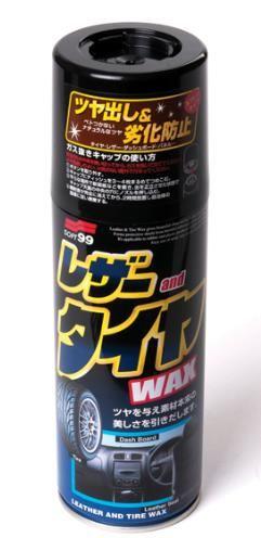 Полироль универсальный (кож.,рез.,пласт.) Leather & Tire Wax, 420мл