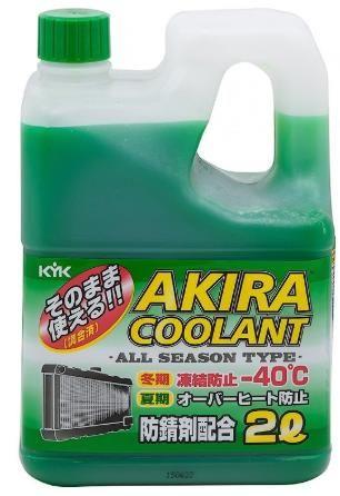 Антифриз Akira Coolant -40 зеленый 2л