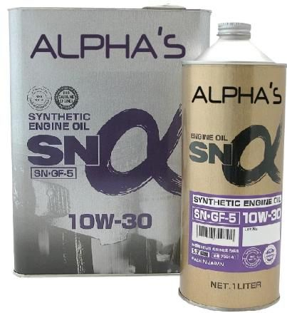 Моторное масло SUMICO (ALPHAS) 10W30 SN 4л