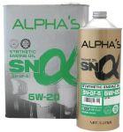 Моторное масло SUMICO (ALPHAS) 5W20 SN/GF-5, 4л